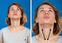 Eating right and being physically active are a few examples of good habits that can help your body stay fit and young. But this is also true for our facial muscles which tend to lose their firmness as we age. With that in mind, we at Bright Side have comp Yoga Facial, Facial Muscles, Fitness Workouts, Fitness Tips, Health Fitness, Elite Fitness, Double Chin Exercises, Face Exercises, Neck Muscle Exercises