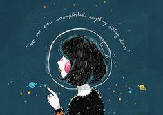 Conheça o trabalho delicado e autobiográfico da ilustradora Kathrin Honesta.