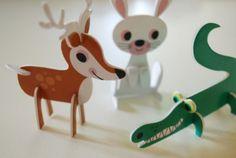 Tier Parade Animal Parade von Ingela P. Arrhenius