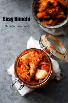 Easy homemade kimch