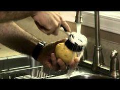 Lavages des fruits et légumes - YouTube