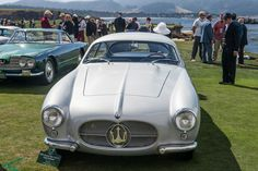 #Maserati100 celebrated at 2014 Pebble Beach Concours d'Elegance.