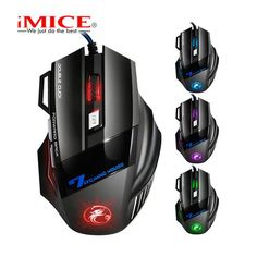 Zimoon Store Wired Gaming Mouse 7 Buttons    $13.58