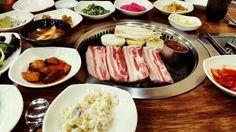 Barbecued Black Pork, Jeju, Korea