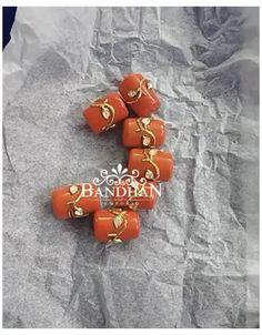 Beaded Jewelry Designs, Jewelry Design Earrings, Bead Jewellery, Jewelry Patterns, Latest Jewellery, Silver Wedding Jewelry, Gold Jewelry Simple, Coral Jewelry, Ruby Beads