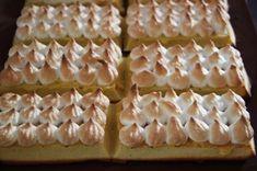 Gaufres au citron meringuées (recette Tupperware)