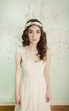 floral headband - boho feel