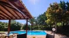 Villa Aphrodite - Authentic Crete, Villas in Crete, Holiday Specialists Crete Holiday, Aphrodite, Villas, Pergola, Bedrooms, Outdoor Structures, Beach, The Beach, Mansions
