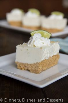 Key Lime Margarita Squares|  #recipe  | Dinners, Dishes, and Desserts