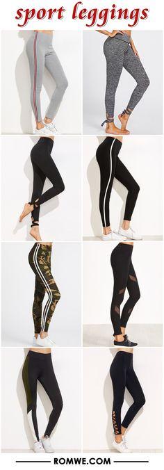 sport leggings from romwe.com