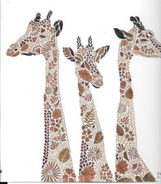 Visit The Post For More Giraffe Pine ConesColoring PagesQuote