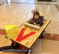 Mouse Trap - funny Halloween costume idea... If I had a kid, this would be their costume.