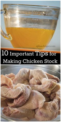 Ten Tips for Making Chicken Broth | Spinach Tiger