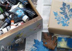Lav flotte billeder med efterårsblade