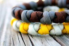 Paracord bracelet from Top Knotch Gear on Etsy. #paracord #prayerbead