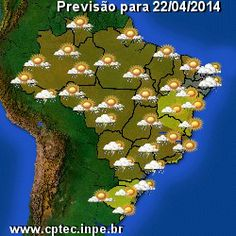 Previsão de Tempo - CPTEC/INPE