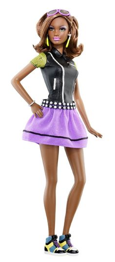 Amazon.com : Barbie So In Style S.I.S. Pastry Kara Doll : Fashion Dolls : Toys & Games
