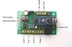 Arduino DCC Usage