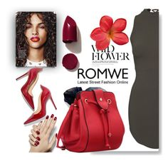 """Romwe contest"" by fashion-336 ❤ liked on Polyvore featuring NARS Cosmetics"