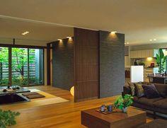 Living Room Japanese Style, Japanese Style House, Tatami Room, Japanese Interior Design, Japan Interior, Zen House, Home Design Living Room, Living Comedor, Dream House Plans