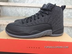 62d2a1c12345d5 NIKE AIR JORDAN RETRO XII WOOL Free Shipping