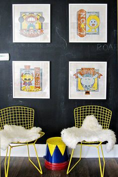 circus room via design sponge: this kid is lucky to have such an awesome room!