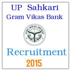 UP Sahkari Gram Vikas Bank 97 Cashier & Manager Posts Recruitment 2015