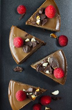 The most creamy, luscious, velvety smooth Raw Vegan Chocolate Cheesecake that is dairy-free, vegan and gluten-free! This blows away everybody who tries it! Just 8 ingredients. If there is one thing I enjoy doing and find an immense amount of passion in, it is creating desserts. I have always loved to bake for as long as I can remember. But,