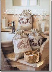 Saretta in serendipity....craftroom79: Schema punto croce monocolore lavanderia