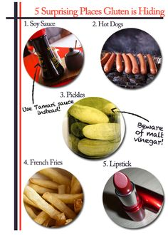 tricky non gluten free foods.