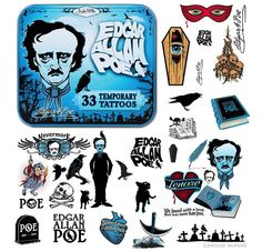 Edgar Allan Poe Action Figure | Tatuagens-Edgar-Allan-Poe-Temporary-Tatoos-01.jpg