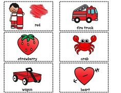 Dual Language Color of the Week Pocket Chart Color Activities, Literacy Activities, Math Resources, Preschool Colors, Preschool Math, Dual Language, French Language, Language Arts, Environmental Print