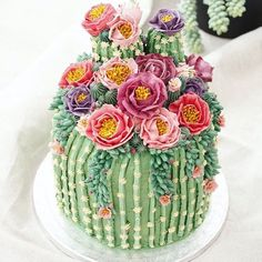 fun dessert for the summer - Cactus cake! - Backen a fun dessert for the summer – Cactus cake! a fun dessert for the summer – Cactus cake! Pretty Cakes, Cute Cakes, Beautiful Cakes, Amazing Cakes, Beautiful Things, Beautiful Pictures, Bolo Tumblr, Cactus Cake, Cactus Food