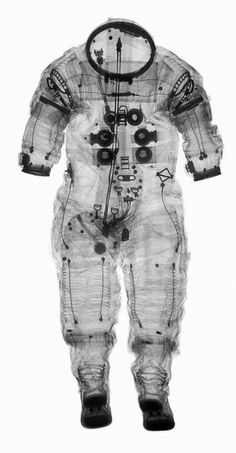 X-ray of space suit