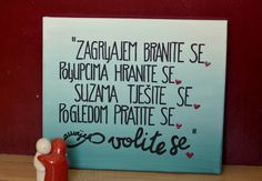 Minimalizam is here to share & care for your happiness. I put little happy thoughts on canvas and YOU give them as a gift to your loved ones! ♡ Acryl paint and industrial marker on canvas. Shipping only in Croatia! CONTACT: mateja.sto@gmail.com #minimalizam #platno #happythoughts #inspiration #handcraft #freetime #handlettering #walldecoration
