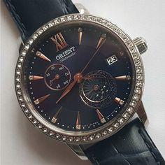 Ladies Watches, Sport Watches, Cool Watches, Orient Watch, Automatic Watch, Watch Brands, Stainless Steel Case, Swarovski Crystals, Jewels