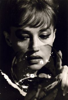 """I decided my glass would always be half full, never half empty."" - Jeanne Moreau"
