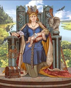 Frigg is Goddess of the sky, marriage, motherhood, love, fertility, and the…