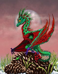 Cranberry Dragon Digital Art by Stanley Morrison