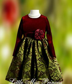 1000 Ideas About Girls Christmas Dresses On Pinterest