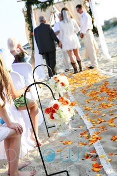 Destination Wedding Planner Planners Tybee Island Beach Ceremony Decorations Bells Florists Got Married Savannah