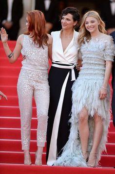 "Juliette Binoche - ""Clouds Of Sils Maria"" Premiere - Cannes Film Festival (May 23, 2014)"