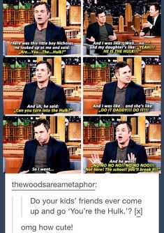 This is proof Mark Ruffalo is the sweetest Avenger.