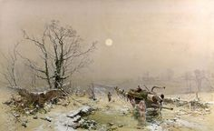 Charles Branwhite: Winter Scene (19th c.)