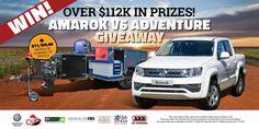 $112K V6 Amarok Adventure giveaway