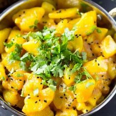 This Six Ingredient Indian Potato Curry is the best friend to your naan or steamed rice! I know, I know it's hard to beat chicken tikka and chicken korma curry.