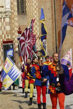 Festival of 1613 Canelli, Piedmonte, Italy Where I would like to be next June.