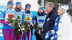 Yhteenveto: Naisten 4 x 5 km viesti   Lahti2017 - Juhlakisat