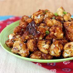 Sesame Glazed Cauliflower