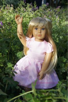 Meet Aletta, the latest Wunschpuppe doll by Kidz 'n' Cats. www.petalina.co.uk